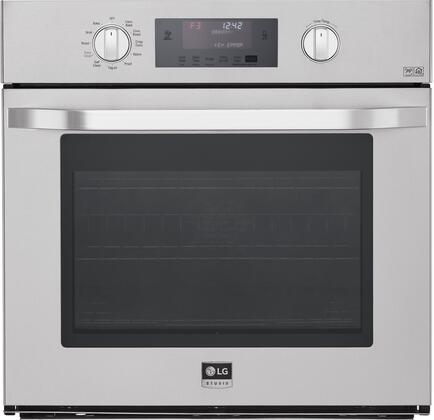 LG Studio  LSWS306ST Single Wall Oven Stainless Steel, Main Image