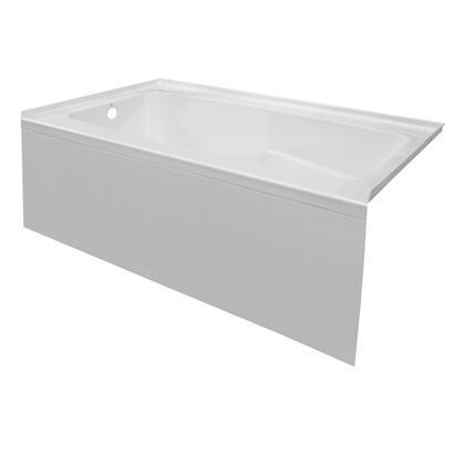 Valley Acrylic Signature Collection PSTARK6032SKLWHT Bath Tub White, Main Image