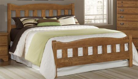 Carolina Furniture Creek Side 3874503971900 Bed Brown, Main Image