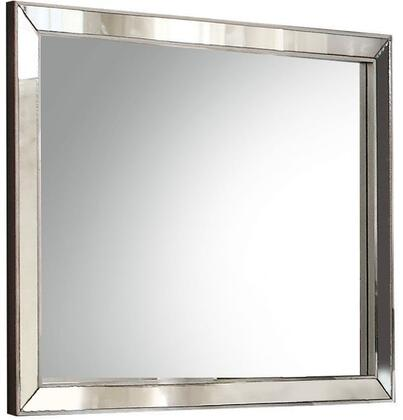 Acme Furniture Voeville II 24844 Mirror Silver, Front View