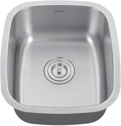 Ruvati Parmi RVM4110 Sink Silver, 1