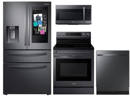 Samsung  1133104 Kitchen Appliance Package Stainless Steel, Main image