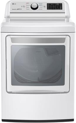 LG DLE7300WE Electric Dryer White, 1