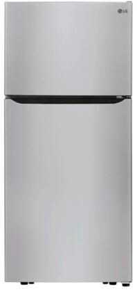 LG  LTCS20020S Top Freezer Refrigerator Stainless Steel, LTCS20020S Top Freezer Refrigerator