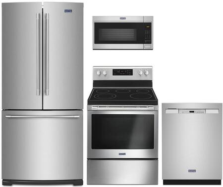Maytag  1052342 Kitchen Appliance Package Stainless Steel, Main Image