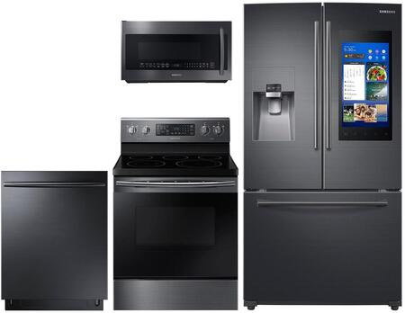 Samsung 757409 Kitchen Appliance Package & Bundle Black Stainless Steel, main image