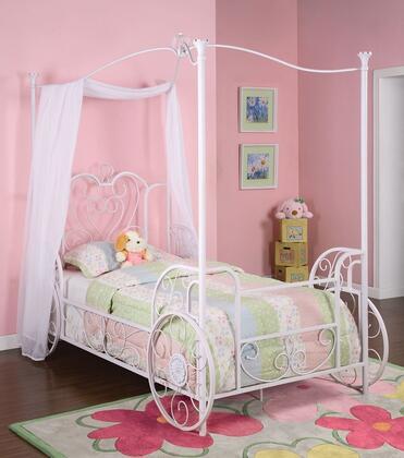 Powell Princess 374042 Bed White, Main Image