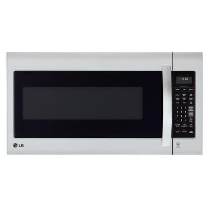 LG  LMV2031ST Over The Range Microwave Stainless Steel, Front Main View