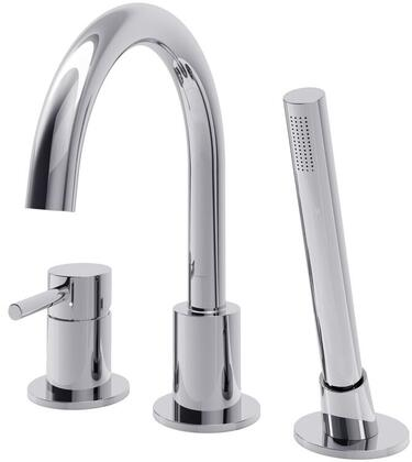 DMTF-01-R-CR Oxford Deck Mount Faucet  in Polished