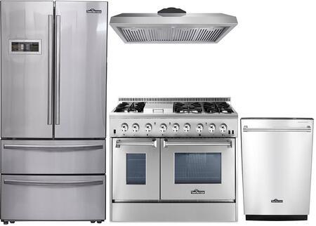 Thor Kitchen 888008 Kitchen Appliance Package & Bundle Stainless Steel, 1