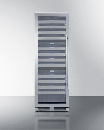 Summit  SWCP1988TLHD Wine Cooler 76 Bottles and Above Stainless Steel, SWCP1988TLHD Triple Zone Wine Cellar