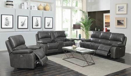 Coaster Ravenna 603211PS3 Living Room Set Gray, Main Image