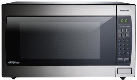 NN-SN966SR Countertop Microwave with 2.2 cu ft. Capacity  1250 Watts of Cooking Power  14 Preset Auto Cook Menu  Inverter Technology  in Stainless