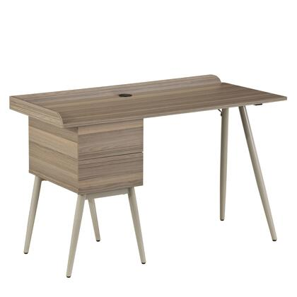 RTA-2338-NAT Modern Desk with Drawers  in
