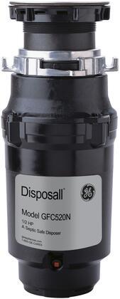 GE  GFC520N Garbage Disposal Black, GFC520N Disposer