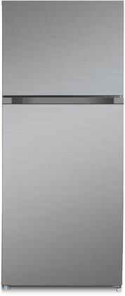 Forte  F15TFRESSS Top Freezer Refrigerator Stainless Steel, Main Image
