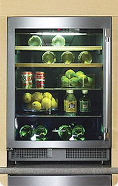 Dacor Classic Epicure EF24LBCSS Wine Cooler 26-50 Bottles Stainless Steel, 1