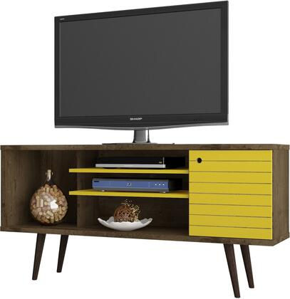 Manhattan Comfort 200AMC94 52 in. and Up TV Stand Yellow, 200AMC94 A