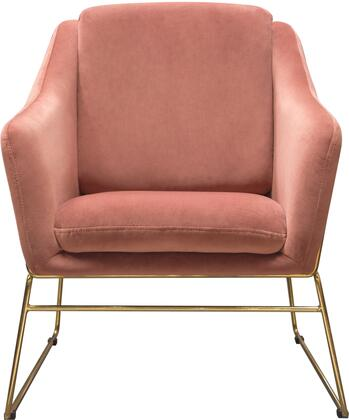 Diamond Sofa Bryce BRYCECHRO Accent Chair Pink, BRYCECHRO Main Image