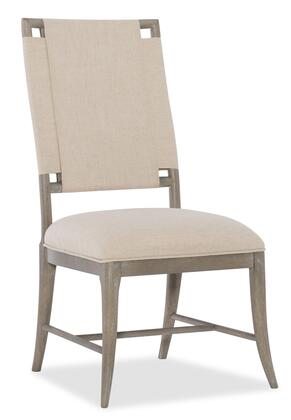 Hooker Furniture Affinity 605075410GRY Dining Room Chair Beige, Silo Image