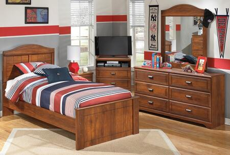 Signature Design by Ashley Barchan B228878486212646 Bedroom Set Brown, 1