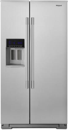 Whirlpool  WRSA71CIHZ Side-By-Side Refrigerator Stainless Steel, Main Image