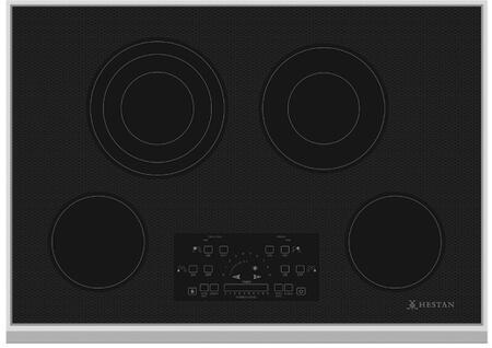 Hestan  KEC30BK Electric Cooktop Black, Main Image