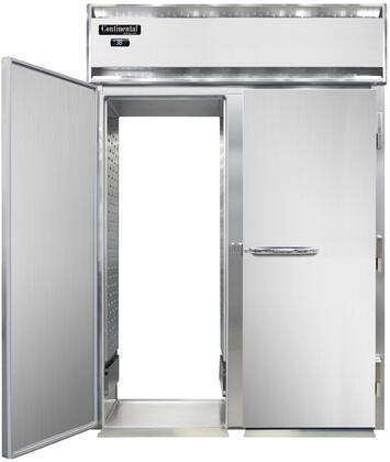 Continental Refrigerator Designer Line D2RINSSRTE Roll-Thru Refrigerators Stainless Steel, D2RINSSRTE Roll-Thru Refrigerator