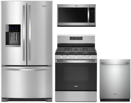 Whirlpool 1125665 Kitchen Appliance Package & Bundle Stainless Steel, Main image