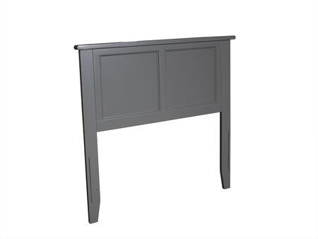 Atlantic Furniture Madison AR286829 Headboard Gray, AR286829 SILO 30