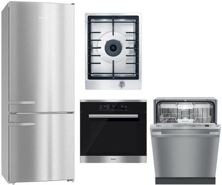 Miele  1138675 Kitchen Appliance Package Stainless Steel, main image