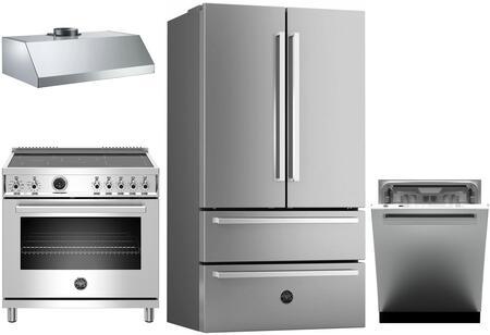 Bertazzoni 1054760 Kitchen Appliance Package & Bundle Stainless Steel, main image