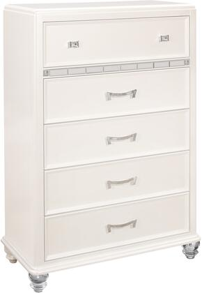 Global Furniture USA Global Furniture USA SOFIAPEARLWHITECHAL Chest of Drawer White, products global furniture color sofia  1131074325 5 sofia pearl white ch al b1
