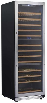 Avanti WCF143S3ST Wine Cooler 76 Bottles and Above Stainless Steel, WCF143S3ST Triple Zone Wine Cooler