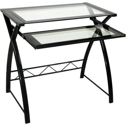 Bello  CD8855 Desks and Hutches Black, Main Image