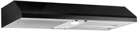 Imperial Mesh N1942PSBL Under Cabinet Hood Black, Main Image