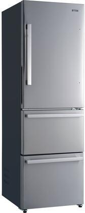 Galanz  GLR12BS2K16 Bottom Freezer Refrigerator Stainless Steel, GLR12BS2K16 Bottom Freezer Refrigerator