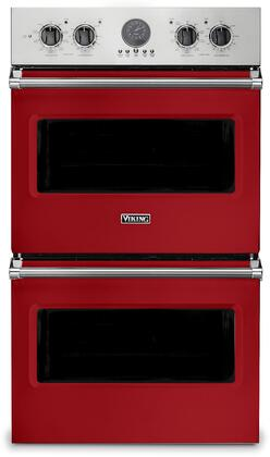 Viking 5 Series VDOE530SM Double Wall Oven Red, VDOE530SM Electric Double Wall Oven