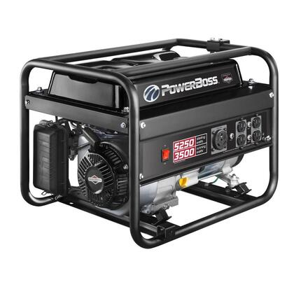 Engine 3 500-Watt Gasoline Powered Recoil Start Portable