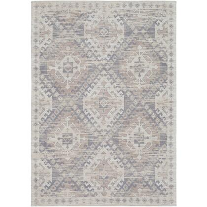 """Amsterdam AMS-1001 8'10"""" x 13′ Rectangle Traditional Rugs in Medium Gray  Taupe  Khaki"""