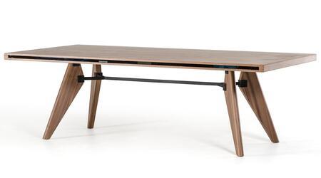 VIG Furniture Modrest Kennedy VGBB1403TWAL Dining Room Table Brown, 1