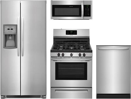 Frigidaire  909226 Kitchen Appliance Package Stainless Steel, 1