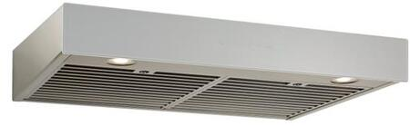 Best  UCB3I36SBS Under Cabinet Hood Stainless Steel, UCB3I36SBS Angled View