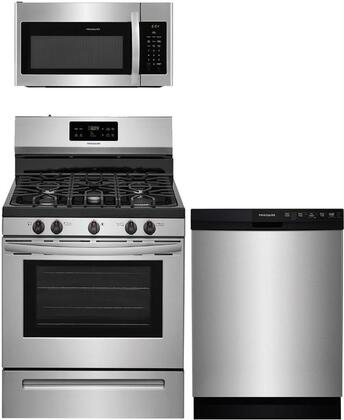 Frigidaire  840695 Kitchen Appliance Package Stainless Steel, main image