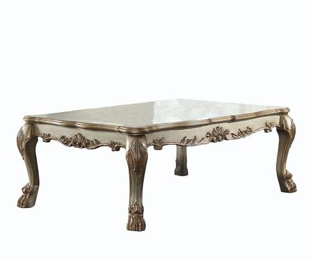 Acme Furniture Dresden 83160 Coffee and Cocktail Table Gold, Coffee Table