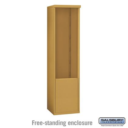 3912S-GLD Free-Standing Enclosure - for 3712 Single Column Unit -