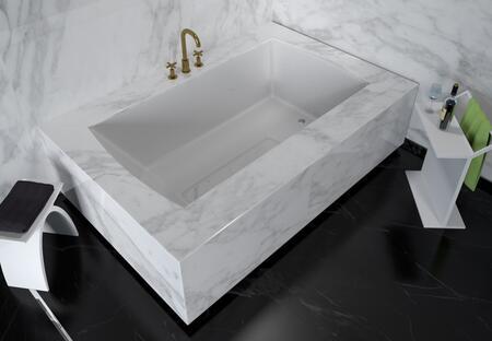 Valley Acrylic Signature Collection OVO7236UMWHT Bath Tub White, Main Image