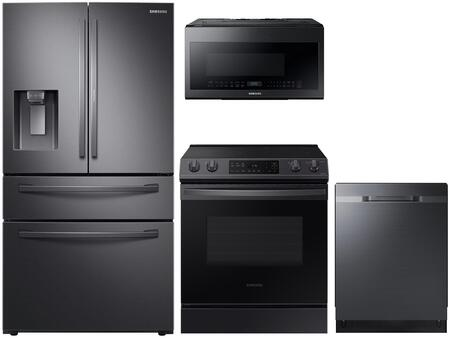 Samsung  1333027 Kitchen Appliance Package Black Stainless Steel, Main image