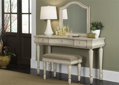 Liberty Furniture Rustic Traditions II 689BRVN Vanity White, Main Image