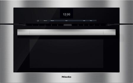 Miele M Touch H6570BM Single Wall Oven Stainless Steel, Main Image